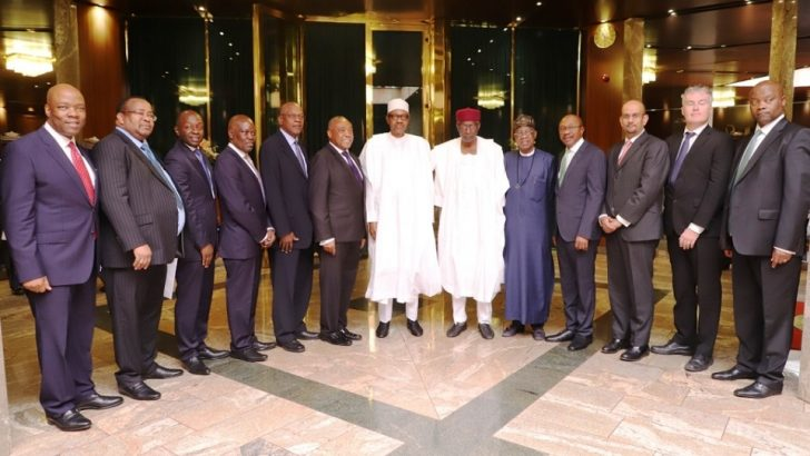 Buhari Seeks Ecobank's Support on FG's Intervention in Agriculture
