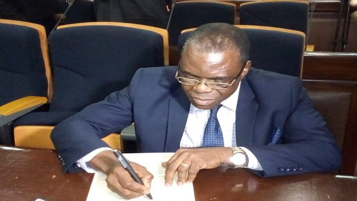 Justice Tsoho Takes Charges As Acting Chief Judge FHC Of Nigeria