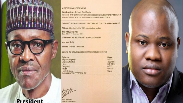 Buhari's Certificate Controversy And The Essentiality Of Education, By Omoshola Deji