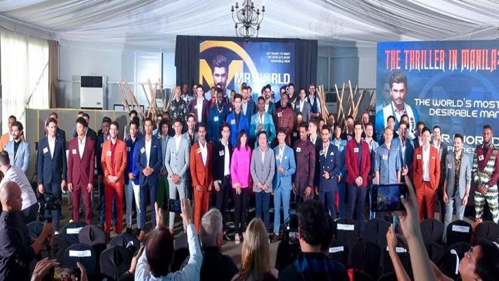 Contestants arrive in Manila for Mr World 2019