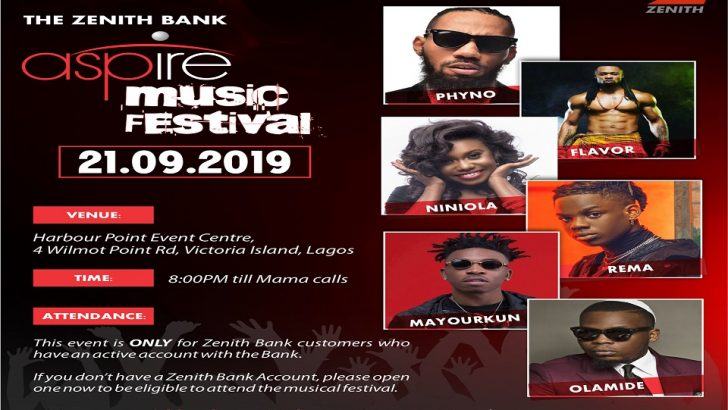 How Top Nigerian Artistes Thrilled Fans At The Zenith Bank Aspire Music Festival