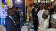 PHOTO NEWS: President Buhari Visits Ecobank Stand At NES25