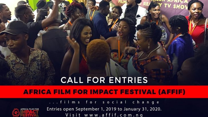 Africa Film For Impact Festival Calls For Entries