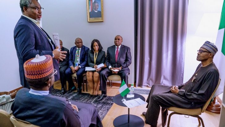 PHOTOS: Buhari, Heritage Bank, Zamfara, Others Discuss Solid Mineral Development
