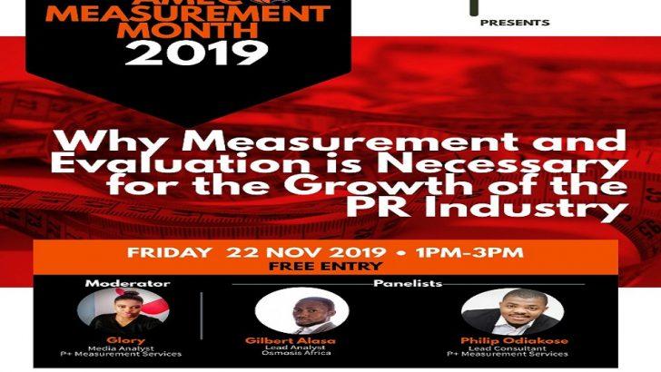 P+ Measurement Services Hosts 2019 AMEC Measurement Month in Nigeria
