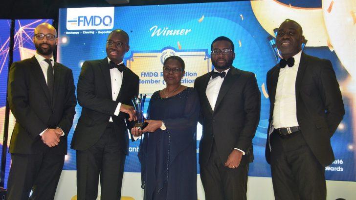 Stanbic IBTC Wins 5 Awards At 2019 FMDQ Gold Awards