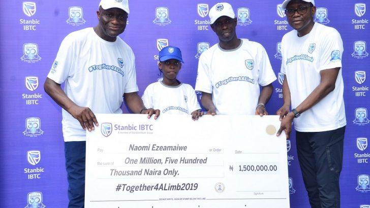 Stanbic IBTC Gives Limbless Children Succour Via Together4ALimb Initiative