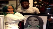 Cardi B Meets Celebrity Pencil Artist Alesh Akeem