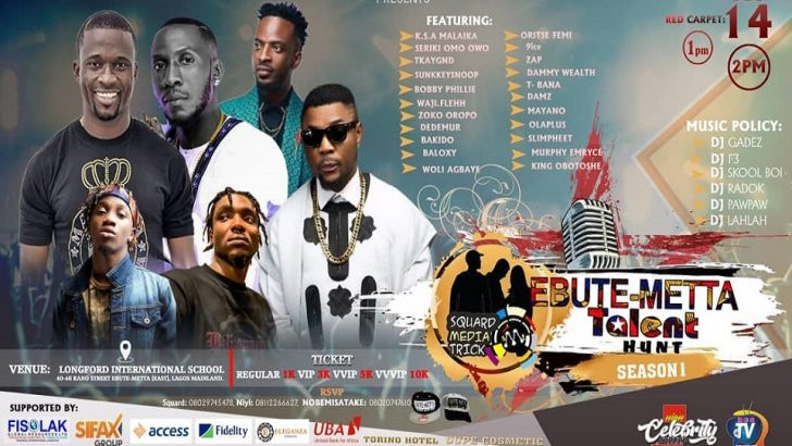Squard Media Organises Ebute-Metta Talent Hunt 2019 Show