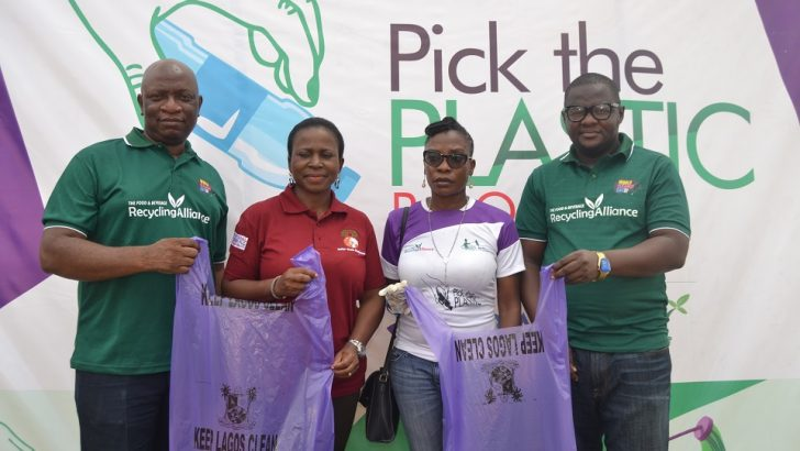 Lagos, FBRA, Green Janitors Hold Pick-a-Plastic Campaign