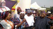 Jubilation in Ara Town Oyetola Installs New Alara