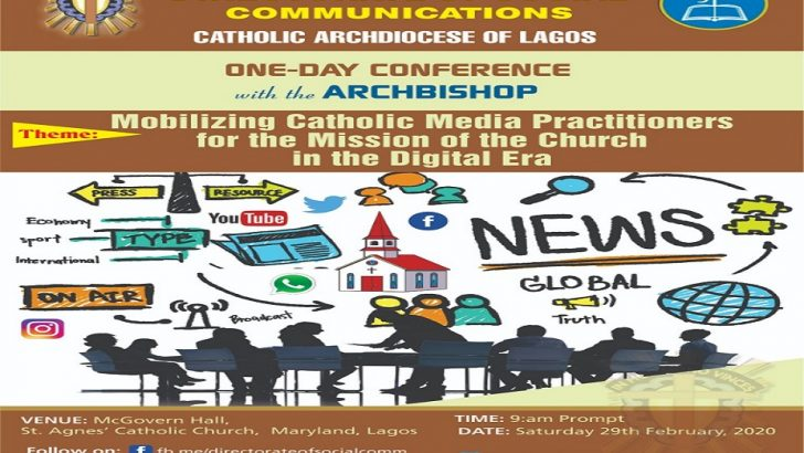 Catholic Media Practitioners For One-Day Conference In Lagos