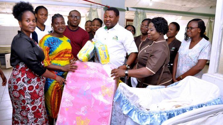 Mouka Donates Materials To Babies in Lagos, Oyo, Osun