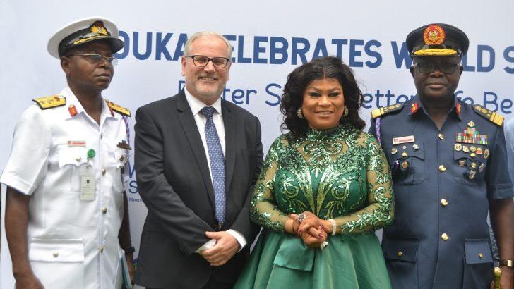 NAFRC Commandant Visits Mouka For World Sleep Day