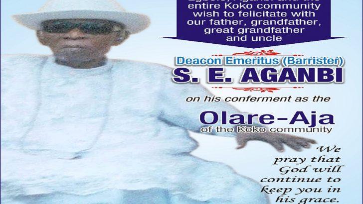 Itsekiri Leaders, NASS Mourn as Stephen Aganbi Dies At 99