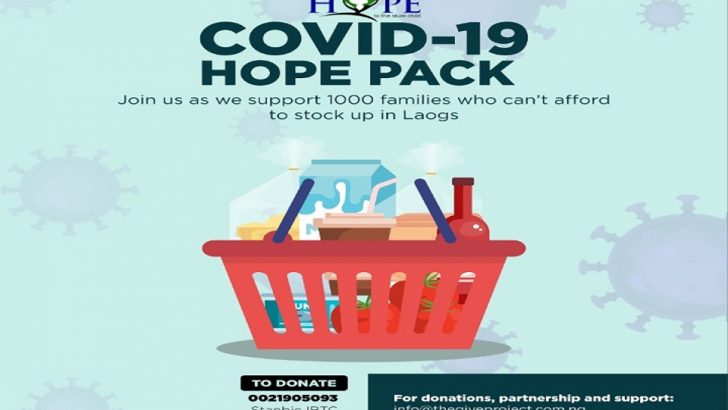 COVID-19: Foundation Gives 'Hope Pack' to Communities