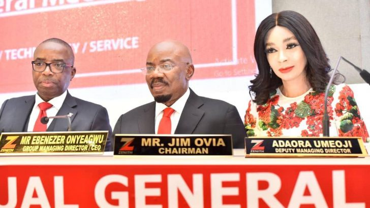 Zenith Bank Rewards Shareholders With N87.9bn Dividend Payout