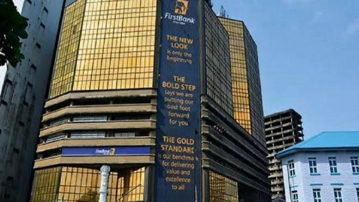 COVID-19: First Bank Disinfects Lagos Branch