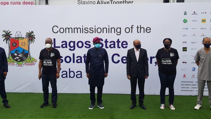 COVID-19: CACOVID Donates 150-Bed Isolation Centre, Multi-Million Naira Medical Equipment To Lagos