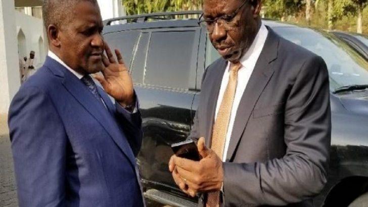 Dangote Denies Endorsing Obaseki For Edo Guber