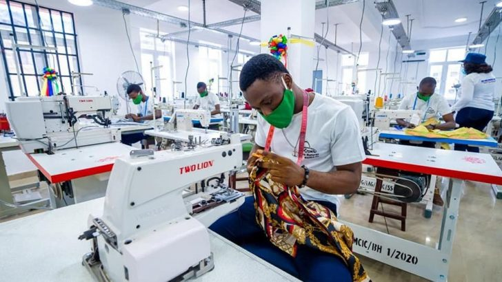 Osinbajo Commissions Fashion Hub in Lagos to serve 136,000 MSMEs Annually