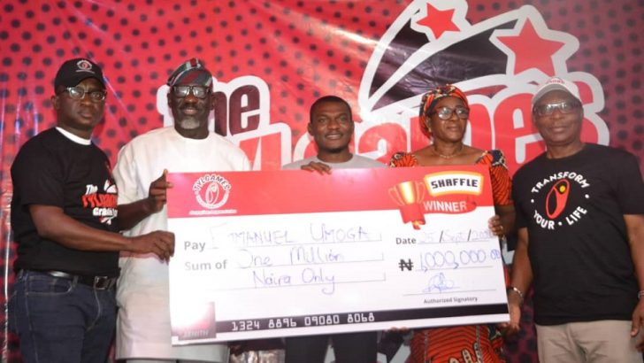 Lagos based business man wins TYLgames N1million grand prize
