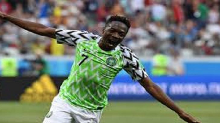 Super Eagles Captain, Ahmed Musa Leaves Saudi Club