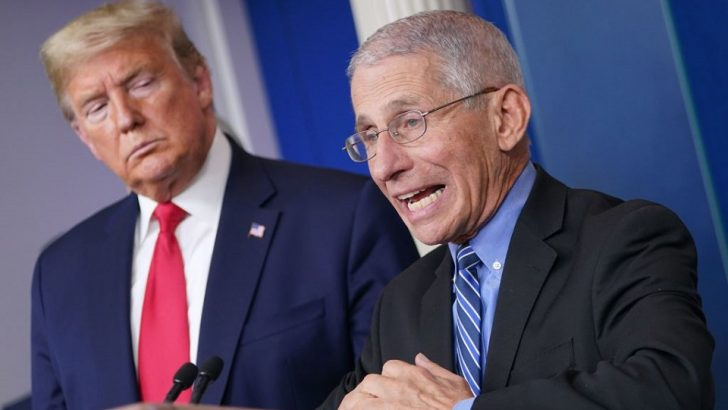 Dr Fauci Warns Trump's Condition Could Worsen