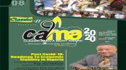 CAMA 2020 Set To Chat Roadmap For Economic Recovery Post Covid-19