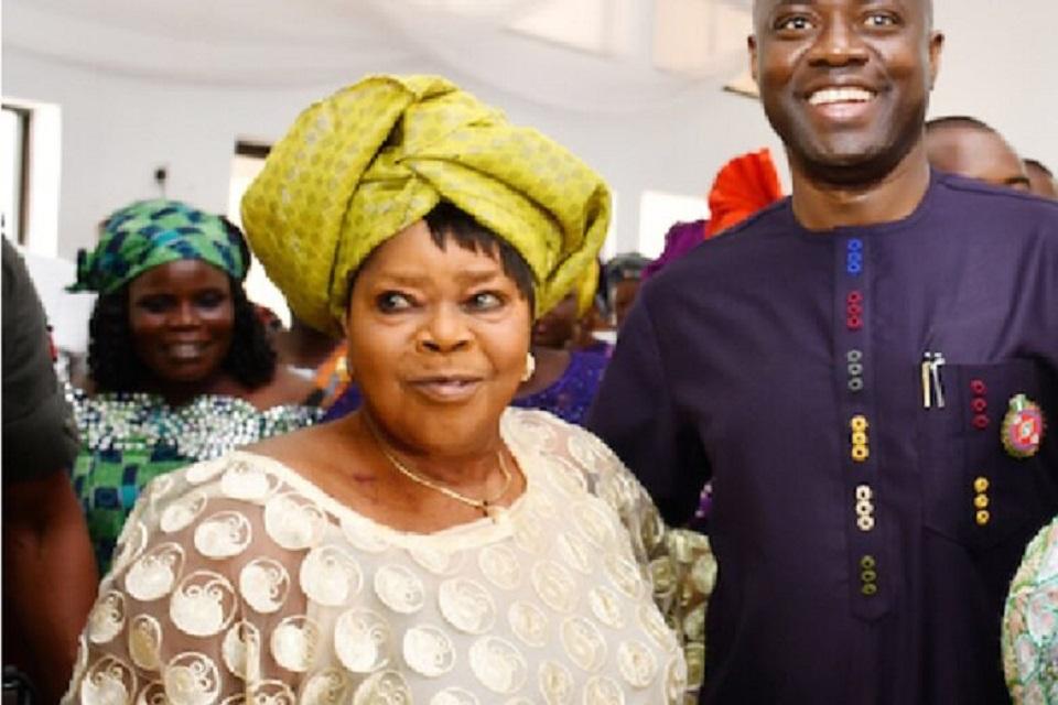Makinde and mum