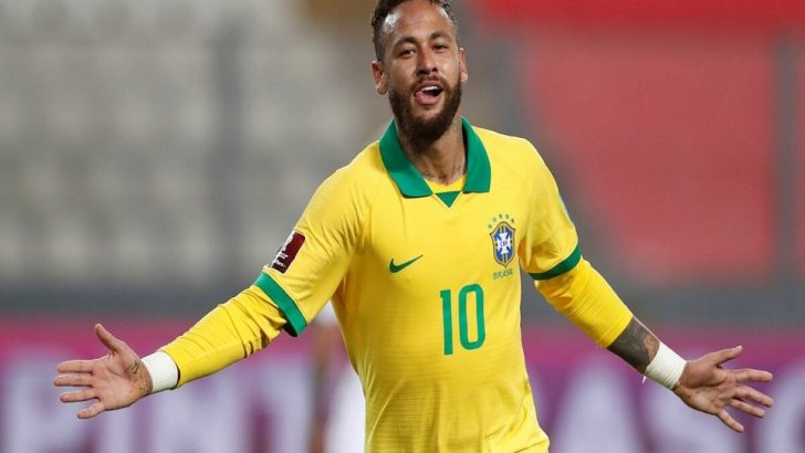 Neymar Now Brazil's Second Highest Scorer After Hat-trick Against Peru