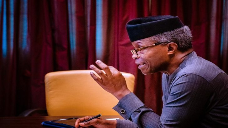 You Don't Investigate Cyber Crime by Seizing People's Phones—VP Osinbajo
