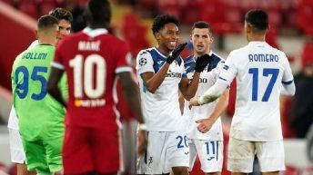 Atalanta Secure Surprise Champions League Win At Anfield