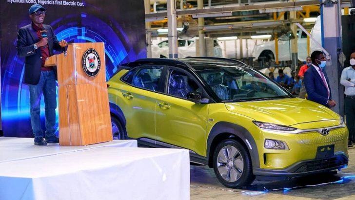 Sanwo-Olu Unveils First Electric Car in Nigeria
