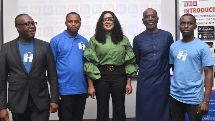 Nollywood Celebrity, Tayo Sobola, Unveils Hicolumn Groundbreaking E-commerce Tech in Grand Style