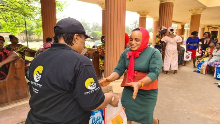 Yuletide: CBA Foundation Donates Food Items, Cash Gifts To Widows In Anambra