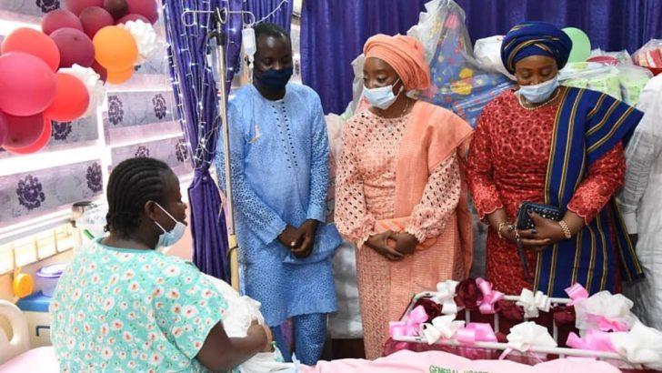 Sanwo-Olu Welcomes First Babies Of 2021 In Lagos
